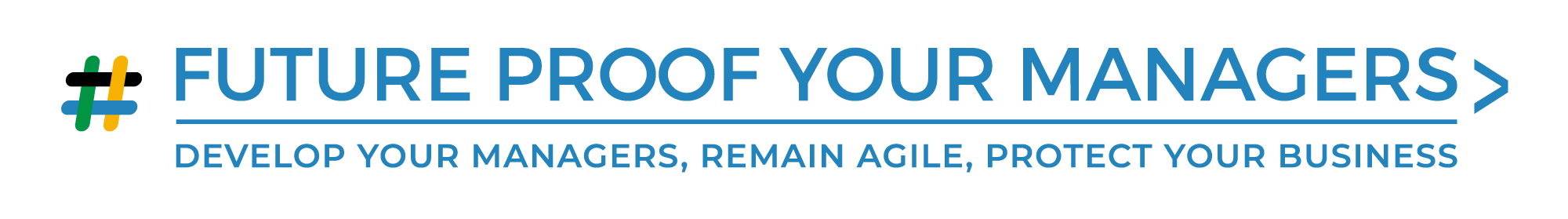 logo for Future Proof Your Managers
